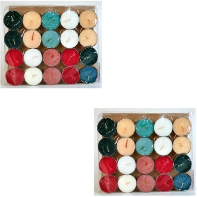 Craftghar Scented Tea-Lights -Pack Of 40 Candle