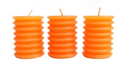 Aurocandles Orange Candle