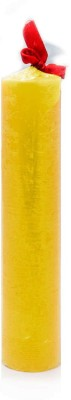 Yes No Fragranced Wax Tower-Yellow Candle