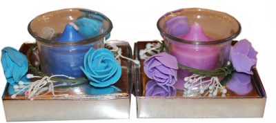Fragrance Concoction Pack of oceanic and lavender fragrance votive Candle