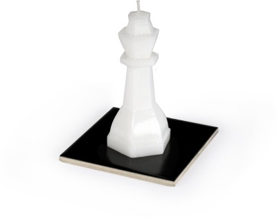Manulena Chess Queen 70g White Candle