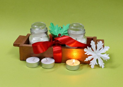 9 Gifts Christmas SET Candle
