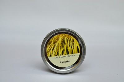 Maxime Vanilla Scented Tinned Hand Poured Candle