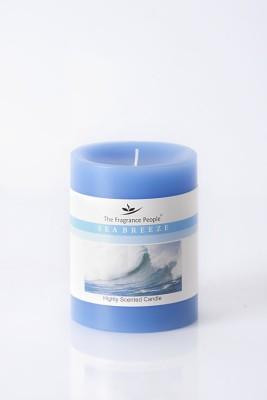 The Fragrance People Medium Pillar 3 x 4 Sea Breeze Candle