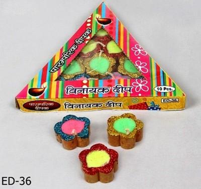 Illume Lamp & Candles Tikona 10 Diyas Pack Candle
