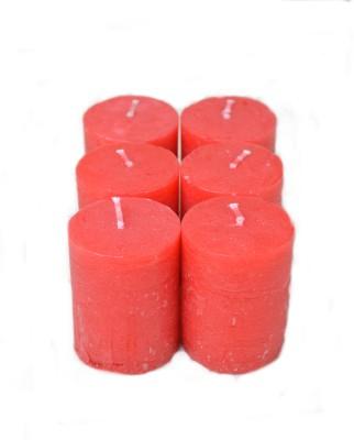 Aurocandles Votives (Red) Candle
