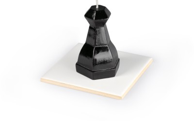 Manulena Chess Pawn Black 80g Candle