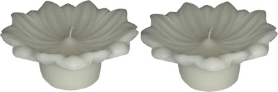 Light Jewels Lotus Floater Candle Set Of 2 Candle