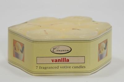 Cinsara Candles Cinsara vanilla fragranced votive Candle