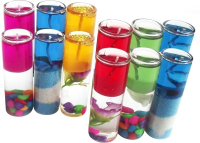 DIZIONARIO Perfect Size Shot Candle Glass 8cm Multicolor Candle