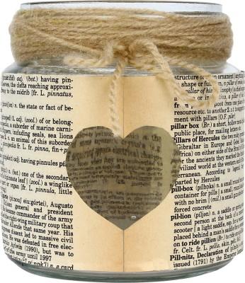 Khatte Meethe Desires Heart Jar (Vintage Lamp) Candle