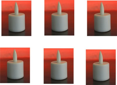 Voltech Engineerings Festival Needs Candle(Multicolor, Pack of 6)