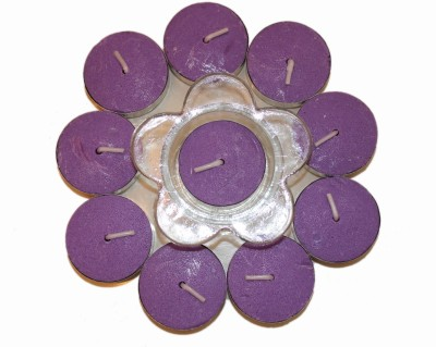 Fragrance Concoction Lavender fragrance Tealight with stand Candle