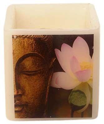 Artistique Budha with Flower Hurricane 4