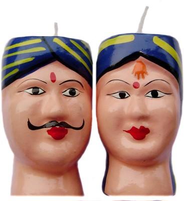 Rastogi Handicrafts Couple-B Candle