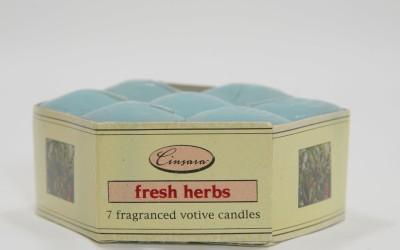 Cinsara Candles Fresh Herbs Candle