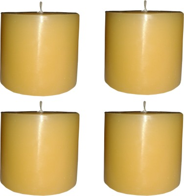 Light Jewels AROMATIC PILLAR CANDLES SET OF 4 Candle