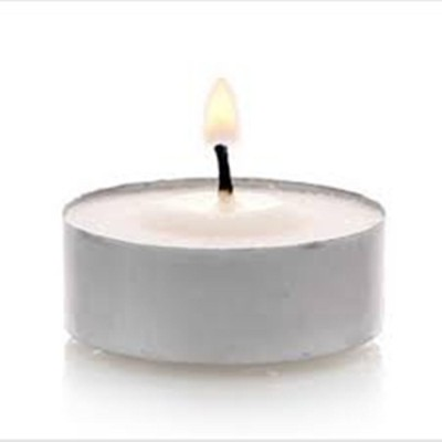 Linco Tealight Candle(Silver, Pack of 11)