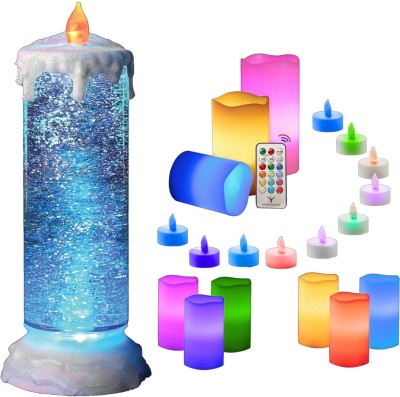 MSE Beautifull Collection Of Led Candles-01 Candle(Multicolor, Pack of 21)