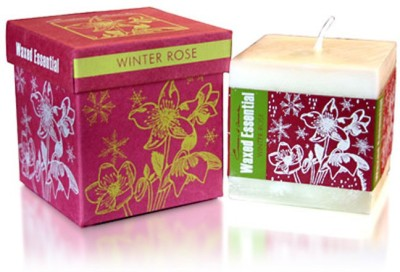 Maroma Winter Rose Christmas Candle