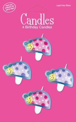 Creative Converting Little Lady Birthday Candles Candle
