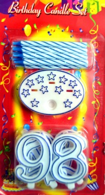 Priyals Birthday Party Candles Multi Numbers Candle