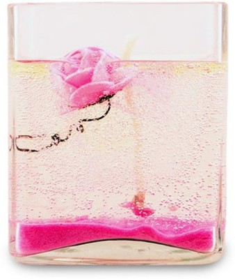 Yes No Gel Pink Candle