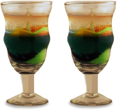 Yes No Shama Candles Green-(Set of 2) Candle