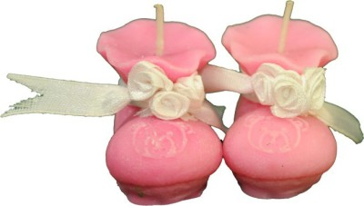 Kevins Kandles Baby Shoe Candle