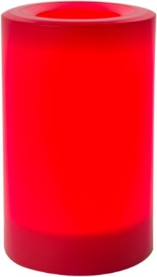 Expressme2u Flameless LED Candle(Red, Pack of 1)