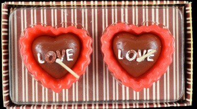 Samriddhivastu Love Cake Candle(Multicolor, Pack of 2)
