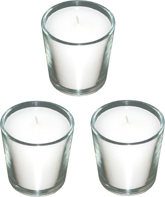 Light Jewels Clear Glass Votives Set Of 3 Candle