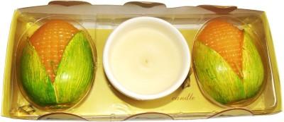 PeepalComm Fruit Corn Candle