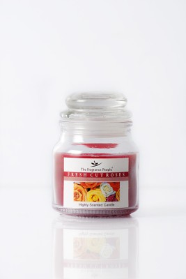 The Fragrance People Small Jar Rose Candle