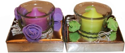 Fragrance Concoction Pack of gardenia and lavender fragrance votive Candle