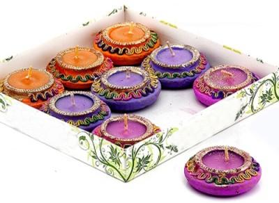 Aapno Rajasthan Matki Shape Candle