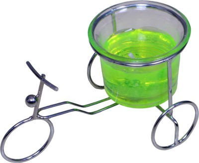 My Art Beautiful Green Cycle Gel Candle