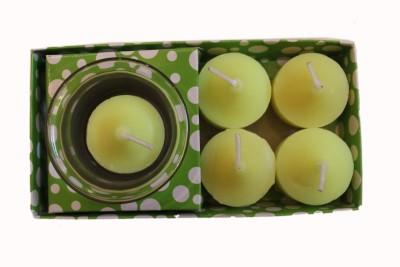 Fragrance Concoction Pack of 4 gardenia fragrance votive Candle