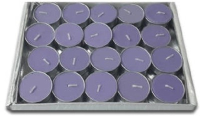 Rasmy Candles scented Lavender T Lites pac of 20 pcs Candle