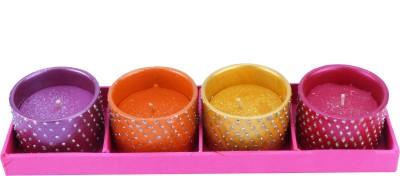 The Nodding Head Diwali Diya - Sparkle Drum Candle