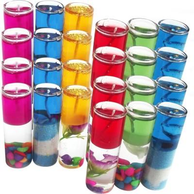 DIZIONARIO Perfect Size Shot Candle Glass 8cm Multicolor Candle