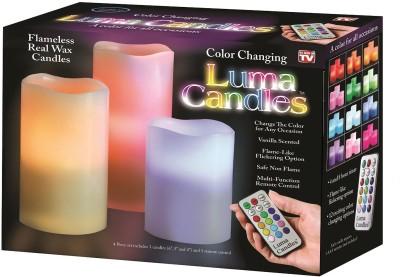 Texas Elements Luma LED Candle