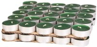 TG's Tealight Candle(Green, Pack of 50)