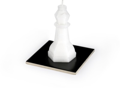 Manulena Chess Bishop 65g White Candle