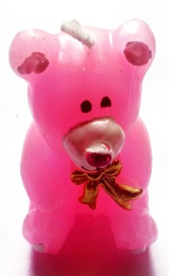 Azone Shopping Teady Bear Pink Candle