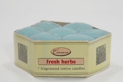 Impact Creators Cinsara fresh herbs fragranced votive Candle