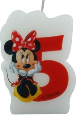 Disney Minnie Café-Birthday Numeral No5 Candle