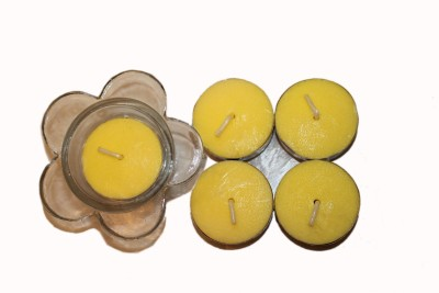 Fragrance Concoction Jasmine fragrance Tealight with stand Candle