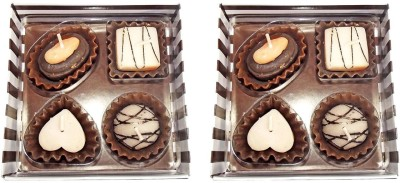 Bemoree Gift Pack Of Chocolate Candle