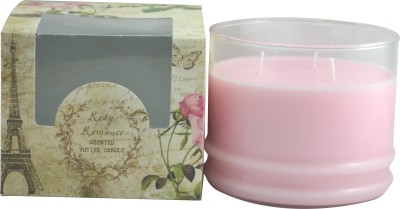 Sixthsense Rose Glass Votive Scented Candle